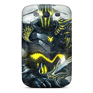 Forever Collectibles Warrior With Firery Sword Hard Snap-on Galaxy S3 Case