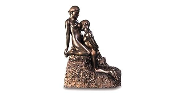 Souvenirs of France - Estatua de Rodin «The Eternal Idol», Color ...