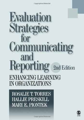 Evaluation Strategies For Communicating And Reporting:2nd (Second) edition ebook