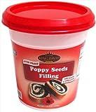 King David Oven Proof Poppy Seeds Kosher Filling (Pack of 6)