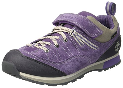 Timberland Kids Griffin Park Goretex Waterproof Oxford, Purple (Montana Grape), 4 UK ()