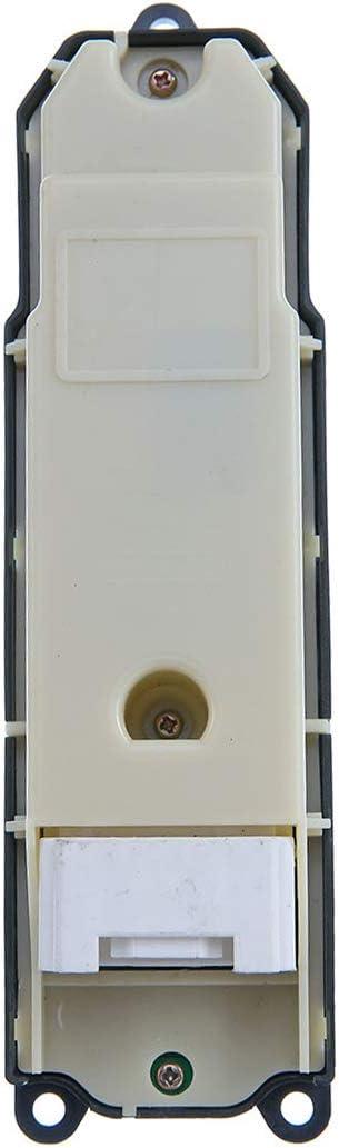 con 20 Pines GRJ12 KZJ12 KDJ12 Frankberg 84040-60090 Interruptor para elevalunas Delantero Izquierdo para GX Land Cruiser Prado/_J12/_ LJ12 TRJ12