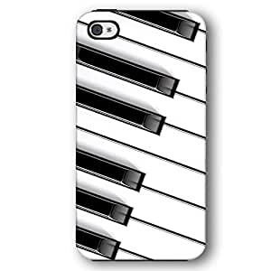 Grand Piano Keys Keyboard For Iphone 5C Case Cover Armor Phone Case