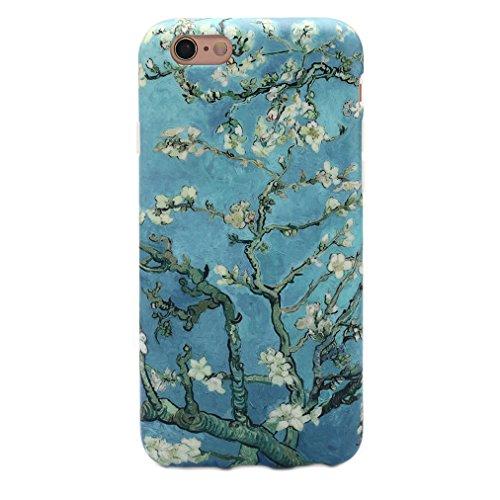 Monique Van (GOLINK iPhone 6 Case for Girls IMD Printing Blossoming Almond Tree Van Gogh TPU Case for iPhone 6 (4.7 inch) - Blossoming Almond Tree)