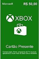 Cartão Xbox Live R$ 50 Reais Presente Gift Card