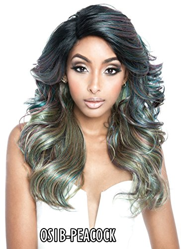 ISIS MANE CONCEPT OIL SLICK RED CARPET PREMIERE LACE FRONT WIG KAYLA - RCP777 (OS1B/TROPICAL)