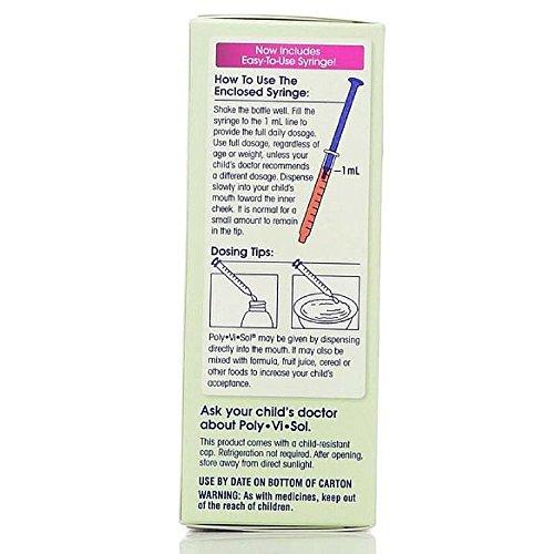 Enfamil Poly Vi Sol Liquid Multivitamin Supplement 50 Ml