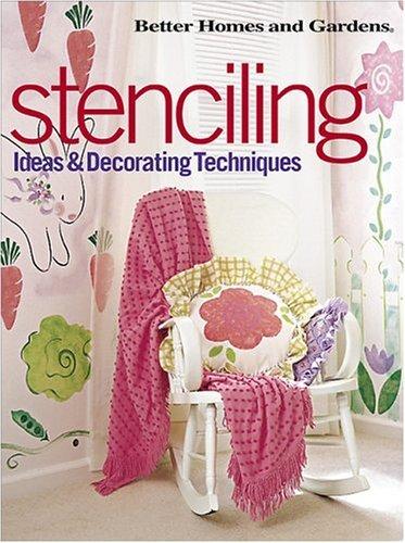 Stenciling: Ideas and Decorating Techniques (Bookshelf Decorating Ideas)