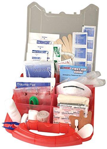 (Rapid Care First Aid 80065 234 Piece 50 Man ANSI/OSHA Compliant Emergency First Aid Kit)