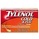 Tylenol Cold Flu Severe, 24 Caplets by Johnson & Johnson (Pack of 3)