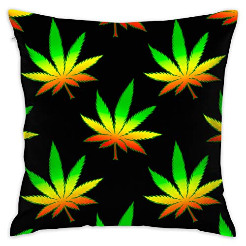 Pillowcase Cushion Covers Custom Marijuana Weed