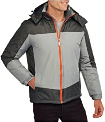 6bb3619cb8a6c Big Mens Climate Concepts Midweight Jacket with Removeable Hood