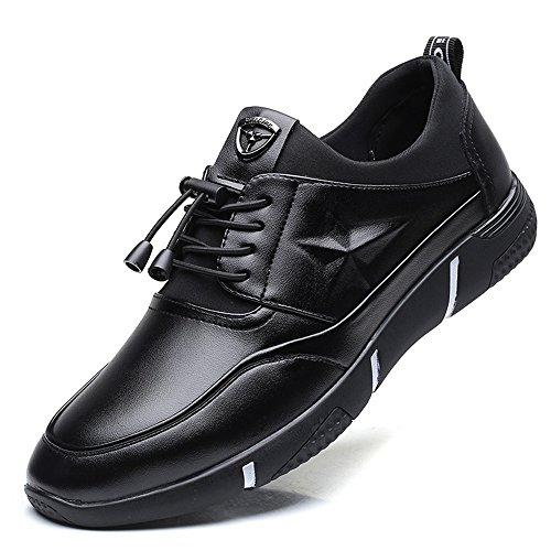 Uk Plano Microfibra Delicadas 8 Piel Para Forrada Fiestas Sintética Eventos Suela De Zapatos Hombre 5 Incluso Cómodos O Tacón Con Negro Formales Marrón Puntadas Casuales qgCYwxf