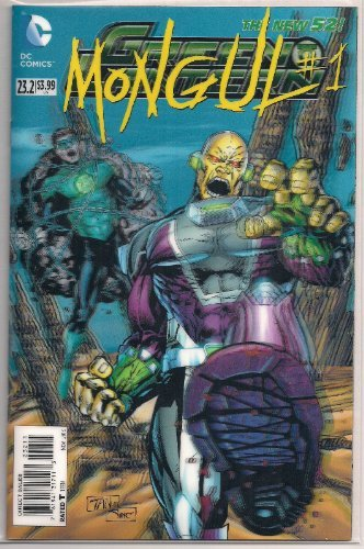 Green Lantern  23.2 (2013)   Villain's Month  Mongul RARE 3D Lenticular Cover by DC Comics