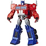 """Transformers Toys Optimus Prime Cyberverse Ultimate Class Action Figure - Repeatable Matrix Mega Shot Action Attack Move - Toys for Kids 6 & Up, 11.5"""""""