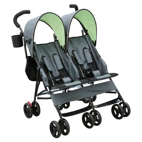 Delta Childrens LX Side x Side Stroller - Lime