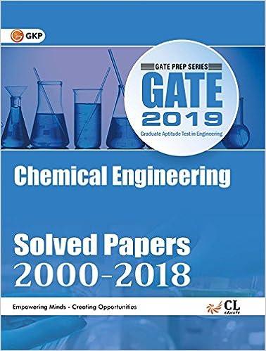 Gate Chemical Engineering Books Pdf