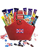 Sweet British Basket by The Yummy Palette | British Candy & Chocolate Gifts Cadbury Retro Candy Best of British Candy