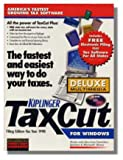 Software : 1998 Taxcut Deluxe Federal H&R Block Tax Cut