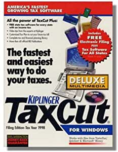1998 Taxcut Deluxe Federal H&R Block Tax Cut