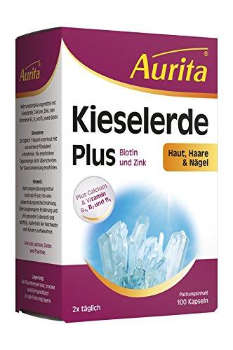 Aurita Kieselerde Plus 100 Kapseln, 1er Pack (1 x 37 g)