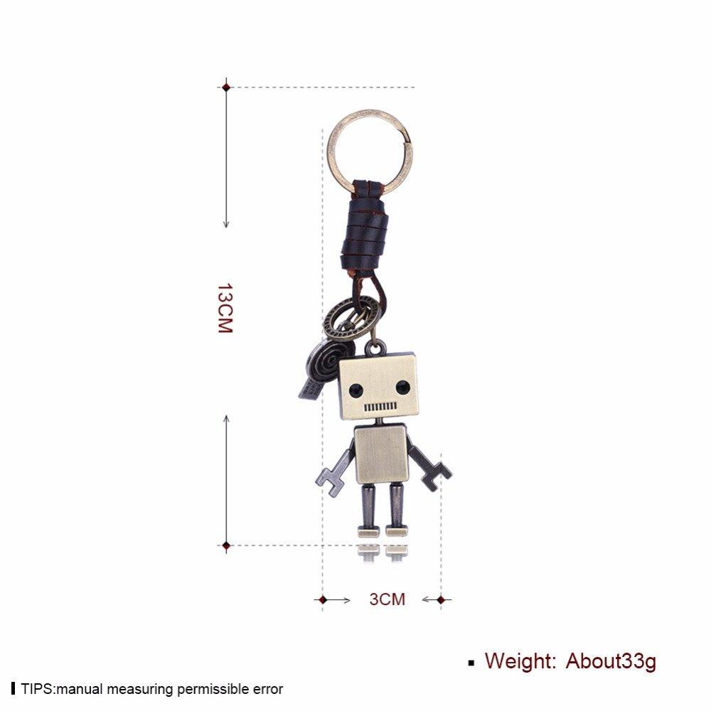 oyfel Metal llavero Trousseau port llave Robot Mode amistad ...