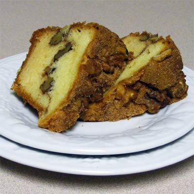 My Grandma's Cinnamon Walnut Coffee Cake