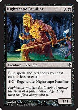 Magic: the Gathering - Nightscape Familiar (83/356) - Commander 2013 ()