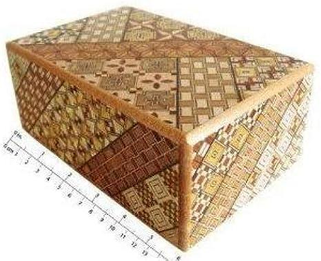 Yosegi Puzzle Box 5 sol, 10 pasos: Amazon.es: Hogar
