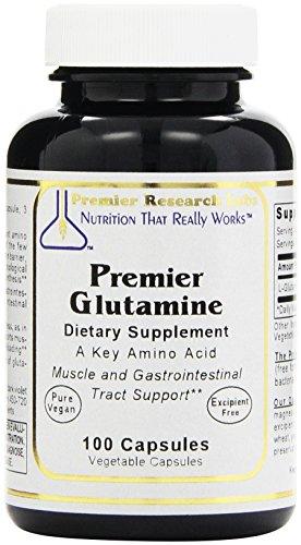 Glutamina de Premier con tapas de Premier Research Labs--100