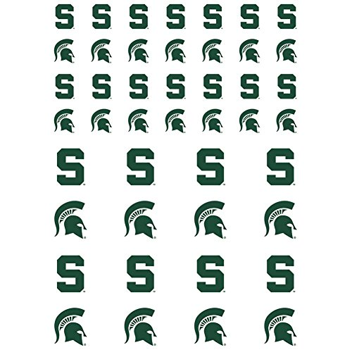The Fanatic Group Michigan State Spartans Small Sticker Sheet - 2 Sheets