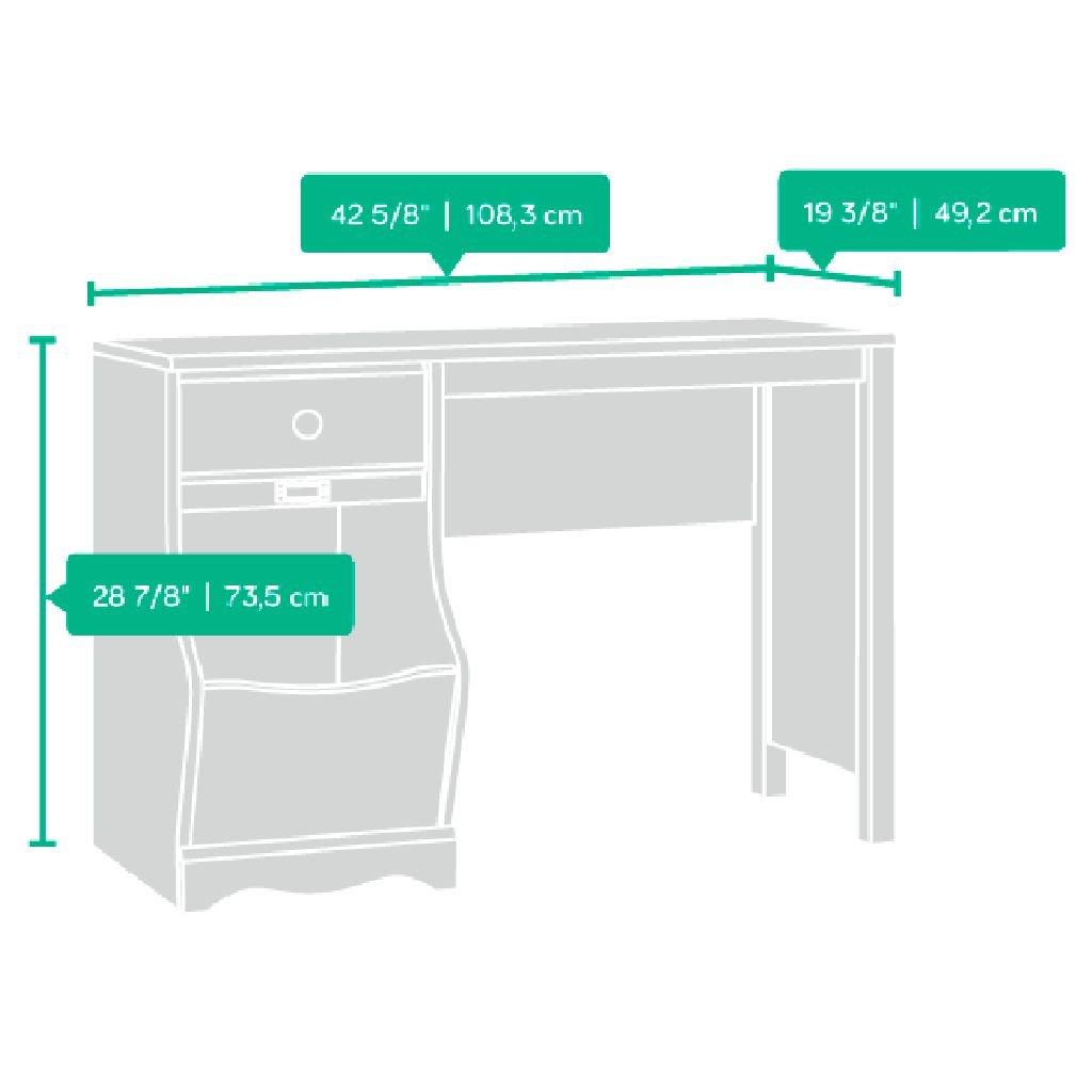 Sauder Pogo Desk for Children, Soft White Finish by Sauder (Image #6)