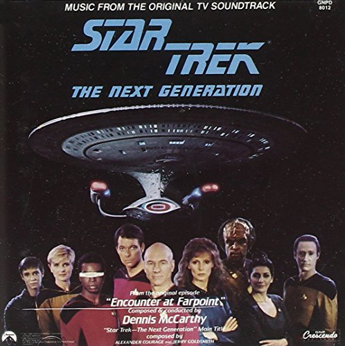 Price comparison product image Star Trek - The Next Generation: Music From The Original TV Soundtrack (Encounter At Farpoint)