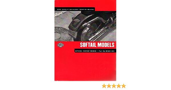 Software 99482-02A 2002 Harley Davidson Softails Service Manual ...