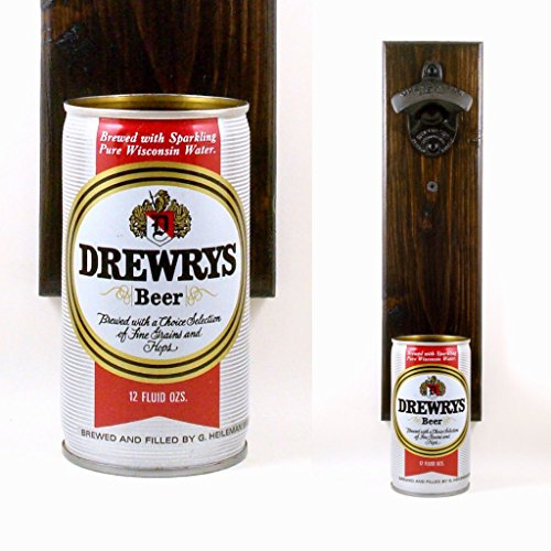 wall-mounted-beer-bottle-opener-with-a-vintage-drewrys-wisconsin-beer-can-cap-catcher