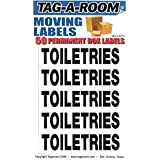 Tag-A-Room Box Content Moving Label (Toiletries)