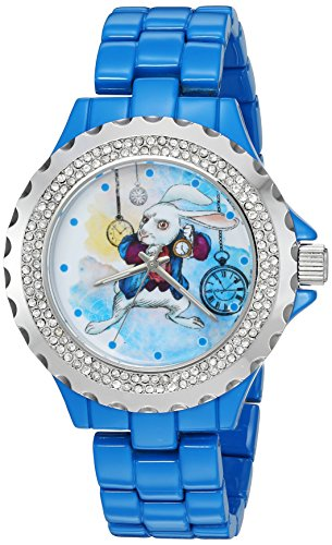 disney-womens-the-white-rabbit-quartz-metal-and-alloy-automatic-watch-colorblue-model-w003075
