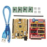 SODIAL CNC Shield V3 Expansion Board + 4xA4988 Step Motor Driver Module + UNO R3 Board kit for Arduino 3D Printer