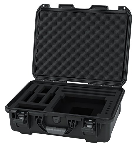 Gator Cases Titan Series Water Proof Injection Molded Case with Custom Foam Insert for In Ear Monitor System (G-INEAR-WP)