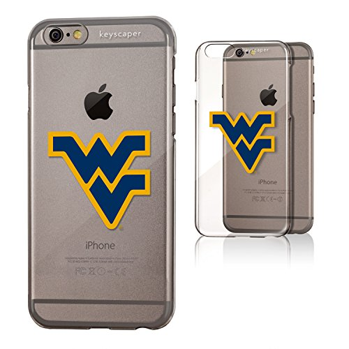 West Virginia Mountaineers iPhone 6 & iPhone 6s Clear Slim Case Licensed by the NCAA (Stores In West Virginia)