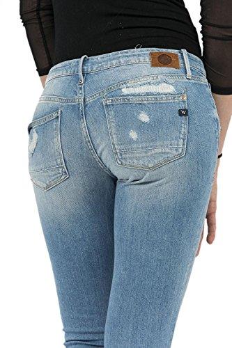 jeans Le Temps Des Cerises 316 malar bleu