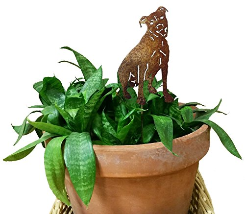 - Pit Bull Ornament or Plant Stake