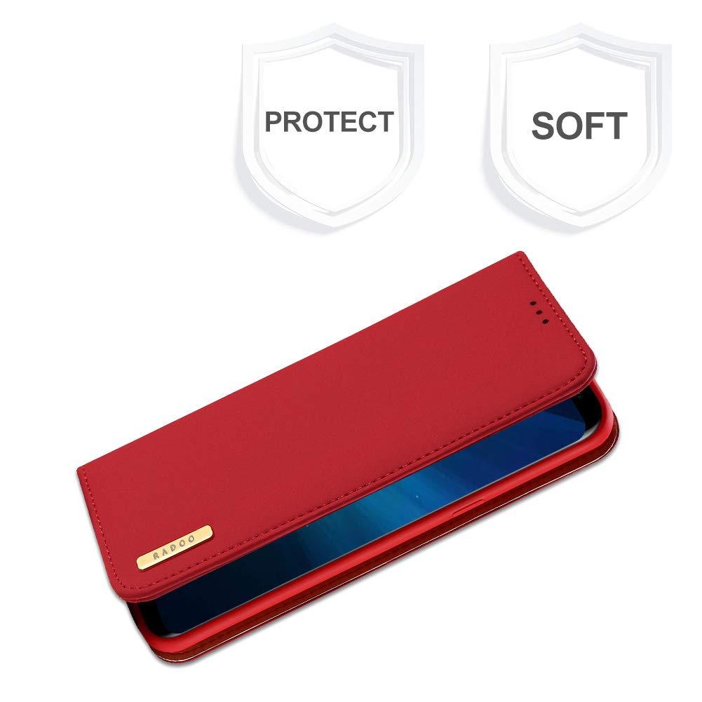 dcfe53153ddd Radoo Galaxy S8 Plus Genuine Leather Case, Luxury: Amazon.co.uk: Electronics
