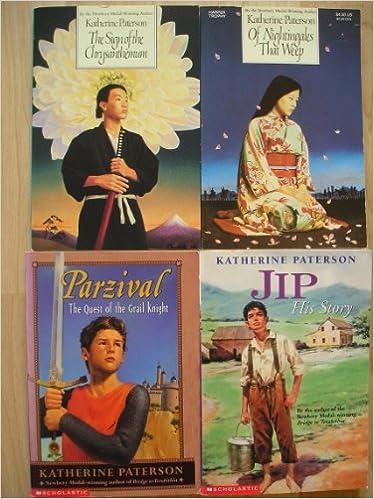 Katherine Paterson Set Jip His Storyparzivalof Nightingales That