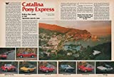 1988 CATALINA PONY EXPRESS: NISSAN, MITSUBISHI, MAZDA, ISUZU, SUBARU, HONDA & TOYOTA COMPARISON COLOR ROAD TEST - USA - MOTOR TREND ORIGINAL !! offers