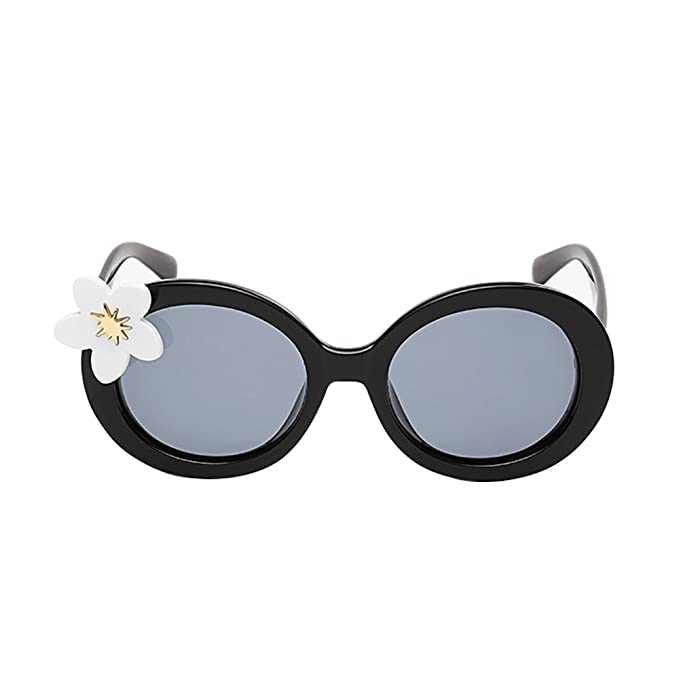 9f586ed0a7e VeBrellen Lovely Kids Polarized Sunglasses Gilgs Glass With Flower  Decoration For Baby Age 3-10