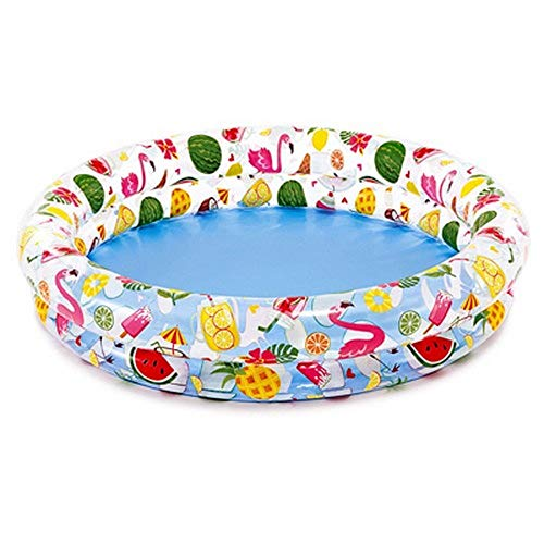 Intex Inflatable Stars Kiddie 2 Ring Circles Swimming Pool (48