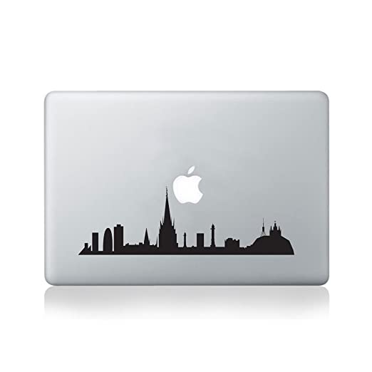 Barcelona City Skyline Macbook Sticker/Calcomanía de Vinilo para ...