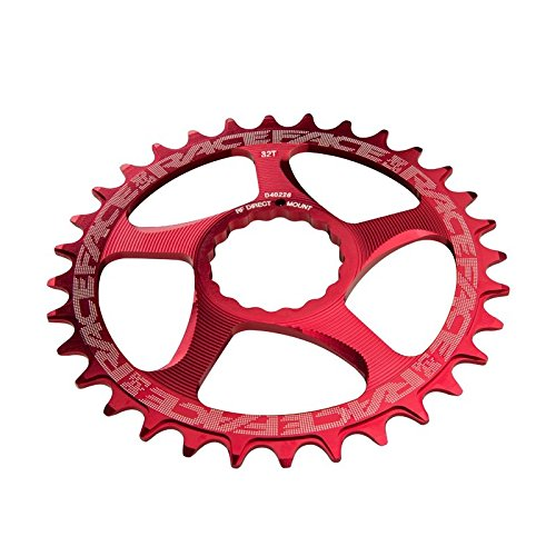 RaceFace Narrow Wide Cinch Direct Mount Chainring Red, 34T by RaceFace