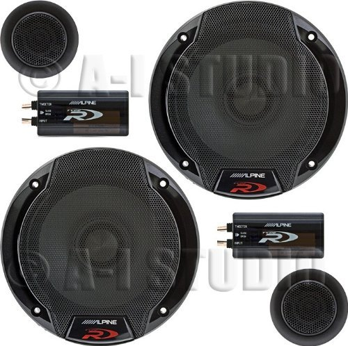 Alpine SPR-60C 6.5″ Car Audio Component System (Pair)